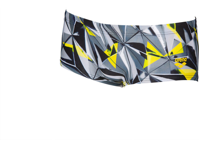 arena One 3D Shattered Low Waist Shorts Herren black/multi